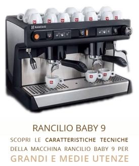 miscela tostatura media scura qualità espresso professionalità costi caffé coffeematic alba vendita capsule macchine horeca rancilio hilly